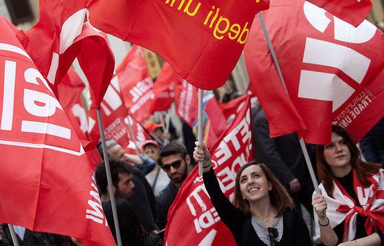 L'etica del lavoro, la solidarietà e lo sciopero politico.