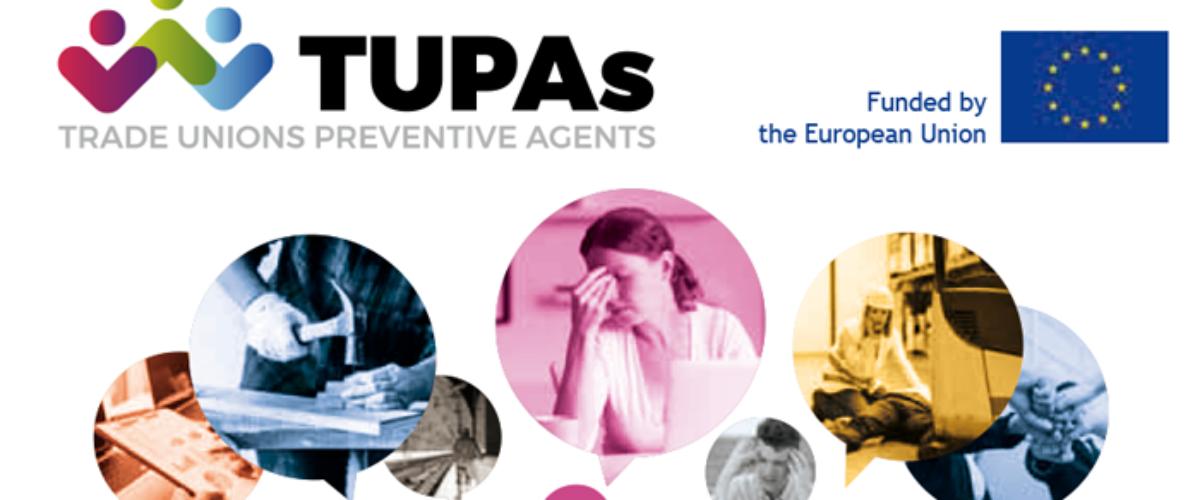 Progetto TUPAs – Trade Unions Preventive Agents.  Gli agenti della prevenzione in UE. L'esperienza del RLST di Prato raccontata a Bruxelles