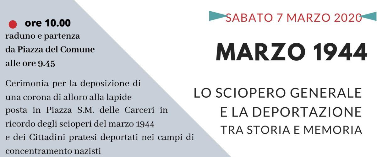 Sabato 7 marzo parteciamo tutte e tutti alla deposizione della corona in Piazza Santa Maria delle Carceri